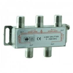 1-4 Splitter 5-2400 Mhz 170001