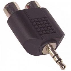 2RCA Dişi-3.5 Mm Stereo Erkek Çevirici Jack 631077