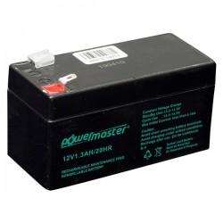 Powermaster 12V 1.3 Ah Akü ( 97 X 43 X 52 MM ) 663013