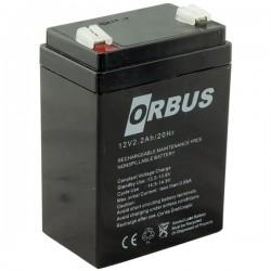 Orbus 12 Volt 2.2 Amper Dik Kare Akü 663005