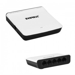 Everest GM-05 5 Port 10-100 Mbps Ethernet Switch 416010