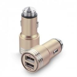 Rewel Metal 2 USB Güvenlikli Araç Çakmak Şarj Soketi 427663AV 521002