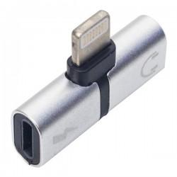 Rewel iP Lightning Şarj Kulaklık Çevirici Adaptör Jack 560025