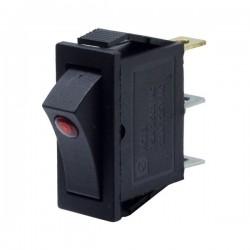 Rewel Işıklı Tekli Mercekli Anahtar  633031