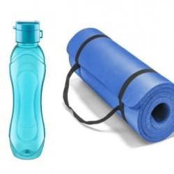 Rewel Yoga ve Spor Minderi (1,8x 60 x1,6) 500 ml Matara Hediyeli 860008